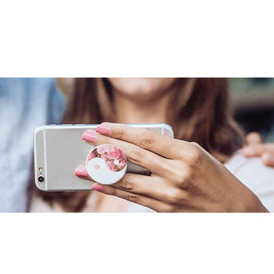 Ying Yang Rose PopSocket Phone Grip and Stand