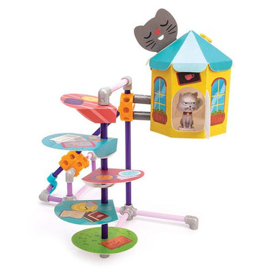 GoldieBlox and Benjamins Cat Nook