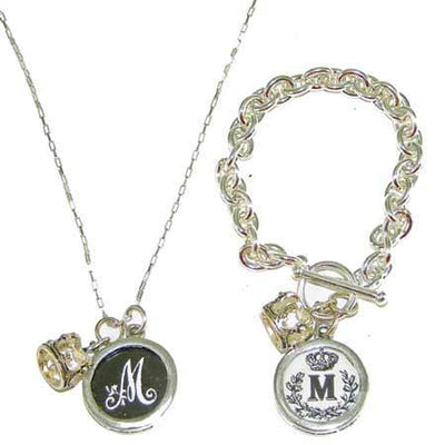 Monogram Charm Pendants