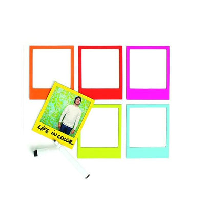 Magnetic Photo Frames with Pen Set (Set of 7) Sarut Group