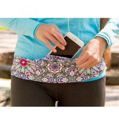 Magenta Sport Pocket Belt