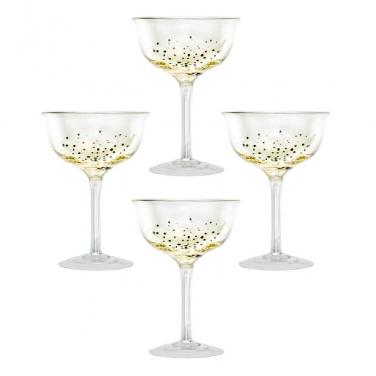 Champagne Coupes (Set of 4)