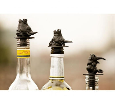 Party Animals Bottle Pourers - Bull