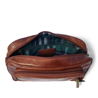 Leather Toiletry Bag Give Simple