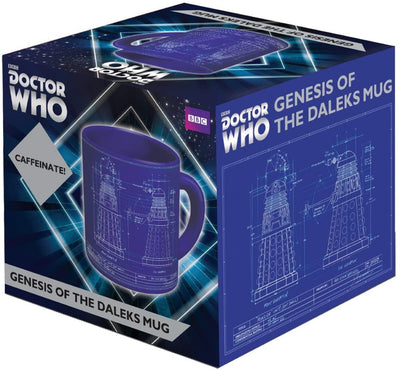 Dr Who Dalek Genesis Mug Give Simple