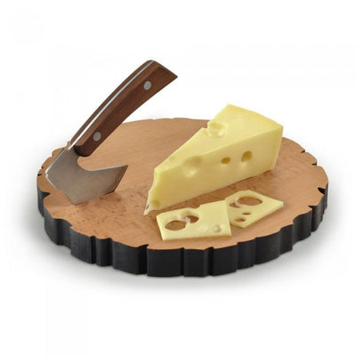 Cheese Log and Axe Set