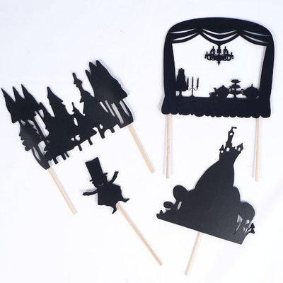Shadow Puppet Theatre Kit Give Simple