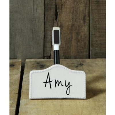 Ceramic Name Cards Creative Coop