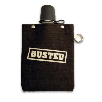 Busted Canvas Flask