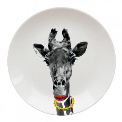 Giraffe Party Animal Plate