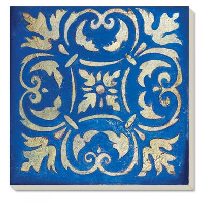 Spanish Tile Coaster Set