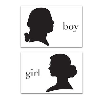 Boy/Girl Party Sitting Placemats Plat du Jour