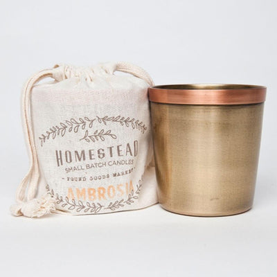Copper Cup Candle - Ambrosia