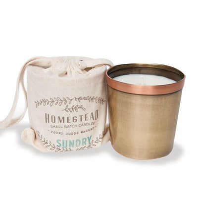 Copper Cup Candle - Sundry