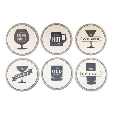 Happy Hour Coaster (Set of 6) Give Simple