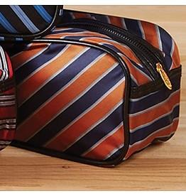 Harvard Tie Toiletry Bag - Orange
