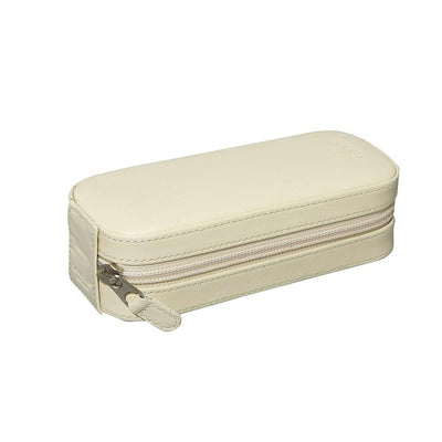 Travel Jewelry Case - White
