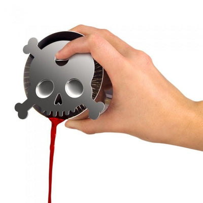 Skull Cocktail Strainer Give Simple