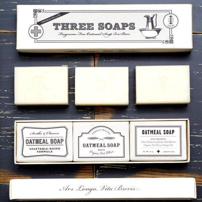 Apothecary Soap Set (Set of 3) Give Simple