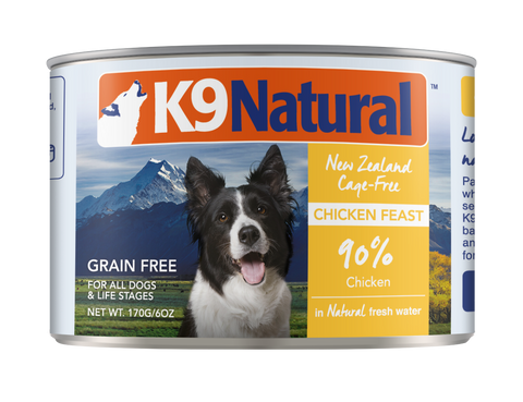 K9 Natural Chicken Feast Can Dog Food