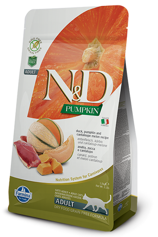 Natural & Delicious Duck, Pumpkin & Cantaloupe Melon Adult Cat Food