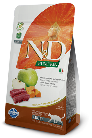 Natural & Delicious Venison, Pumpkin & Apple Adult Cat Food