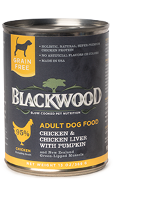Blackwood Chicken & Chicken Liver Canned Dog Food