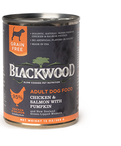 Blackwood Chicken & Salmon Canned Dog Food