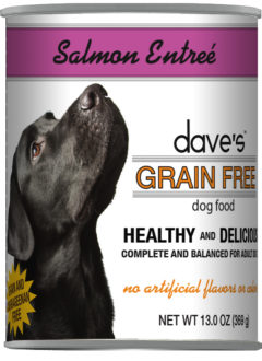 Dave's Grain Free Salmon Entreé Canned Dog Food