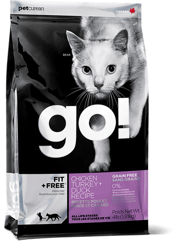 GO! FIT + FREE™ Chicken, Turkey + Duck Recipe for Cats