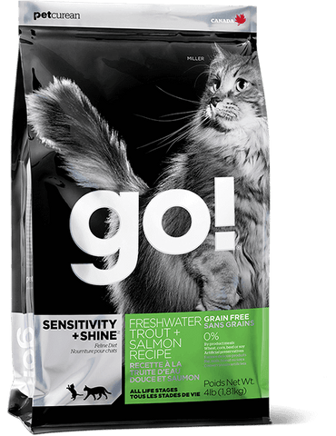 GO! SENSITIVITY + SHINE™ Freshwater Trout + Salmon Recipe for Cats