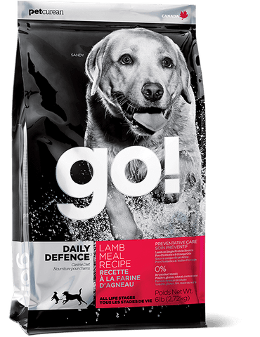 GO! DAILY DEFENCE™ Lamb Meal Recipe Dog Food