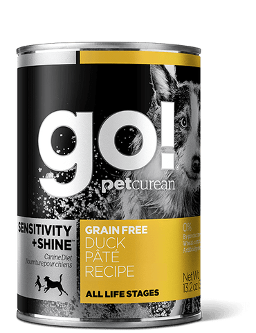 GO! SENSITIVITY + SHINE™ Duck Pâté Dog Food