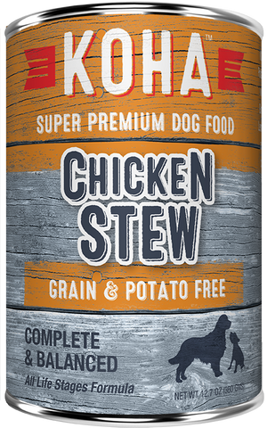 Koha Chicken Stew Dog Food