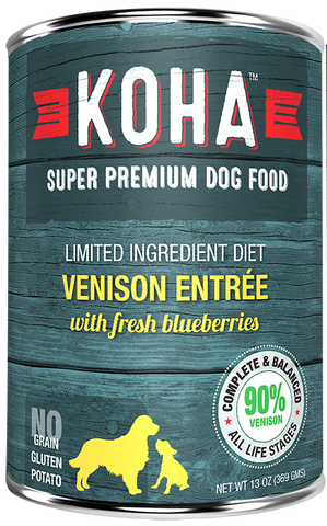 Koha Venison Entree Dog Food