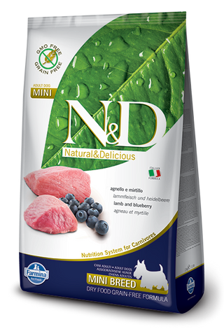 N&D Grain-Free Lamb & Blueberry Adult Dog Mini Breed