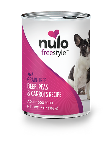 Nulo Beef, Peas & Carrots Canned Dog Food