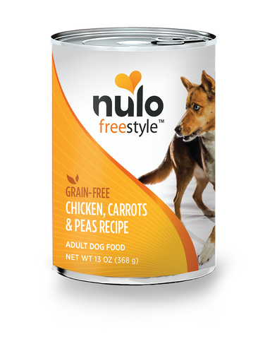 Nulo Chicken, Carrots & Peas Canned Dog Food