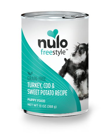 Nulo Turkey, Cod & Sweet Potatoes Canned Puppy Food