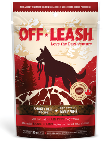 Off Leash Soft & Chewy Smokey Beef Dog Treats