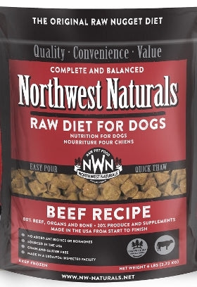 Northwest Naturals™ Beef Nuggets Raw Diet for Dogs