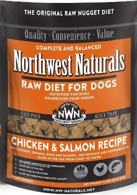Northwest Naturals™ Chicken & Salmon Nuggets Raw Diet for Dogs