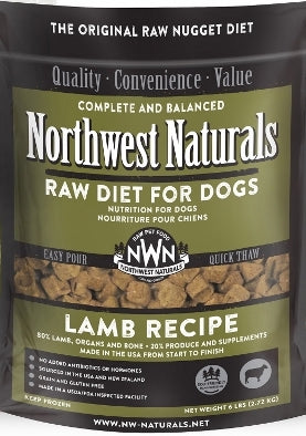 Northwest Naturals™ Lamb Nuggets Raw Diet for Dogs