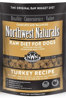 Northwest Naturals™ Turkey Nuggets Raw Diet for Dogs