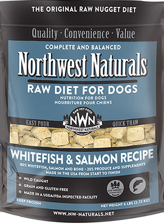 Northwest Naturals™ Whitefish & Salmon Nuggets Raw Diet for Dogs
