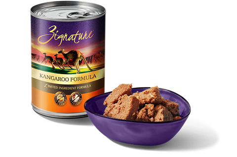Zignature Kangaroo Formula Wet Dog Food