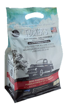 Tucker's Raw Frozen Beef-Pumpkin Formula Dog Food