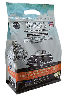 Tucker's Raw Frozen Pork-Lamb-Pumpkin Formula Dog Food