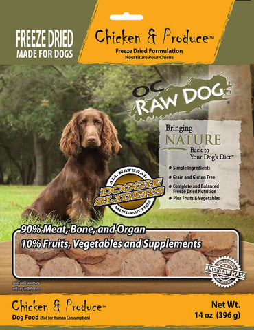 OC Raw Dog Chicken & Produce Dog Food