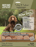 OC Raw Dog Turkey & Produce Dog Food